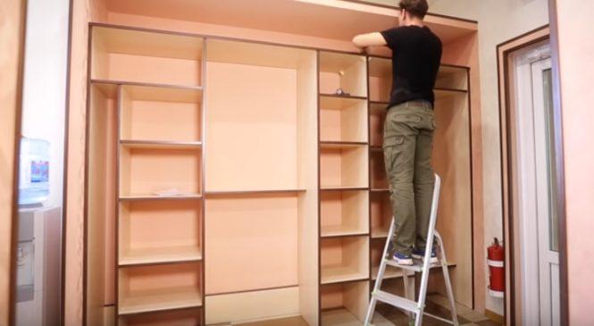 Ремонт шкафа-купе своими руками