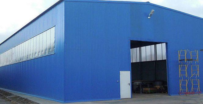 Использование металлоконструкций в промышленном строительстве