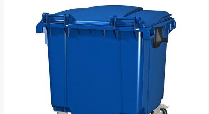 О пластиковых контейнерах для мусора