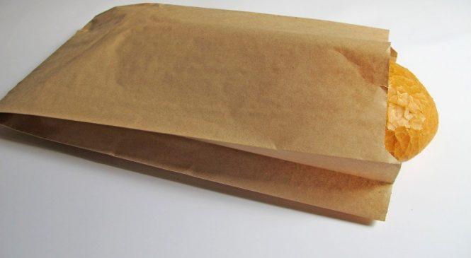 О использовании бумажных пакетов с логотипом