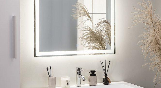Светодиодное зеркало для ванной — достоинства и недостатки