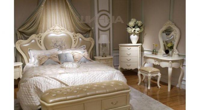 Основные достоинства спальни в белых тонах