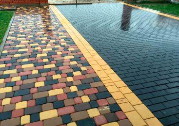 О преимуществах укладки тротуарной плитки на даче