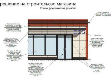 Проект для разрешения на строительство