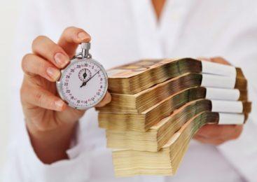 О взятии средств в МФО